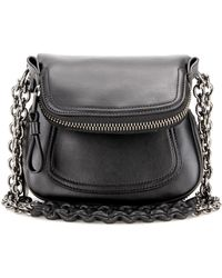 Tom Ford - Jennifer Mini Leather Shoulder Bag - Lyst