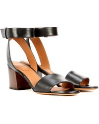 Givenchy - Paris Leather Sandals - Lyst