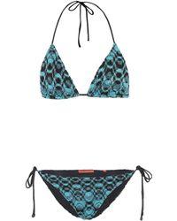 Missoni - Bikini triangle imprimé - Lyst