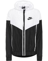 Nike - Hooded Running Jacket - Lyst