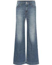 ALEXACHUNG - Jeans flared a vita alta - Lyst