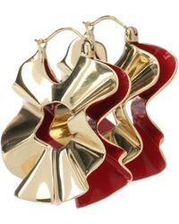 Ellery - Beton Curl Earrings - Lyst