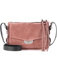 Rag & Bone - Small Field Suede Crossbody Bag - Lyst