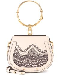 Chloé - Exclusive To Mytheresa. Com – Small Nile Leather Crossbody Bag - Lyst
