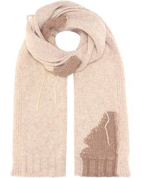 Acne Studios - Olina S Patch Wool-blend Scarf - Lyst