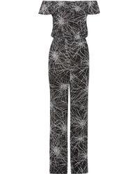 Diane von Furstenberg - Adele Printed Jumpsuit - Lyst