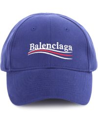 Balenciaga - Embroidered Cotton Baseball Cap - Lyst