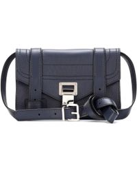 Proenza Schouler - Ps1 Mini Crossbody Leather Shoulder Bag - Lyst