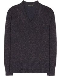 Etro   Wool And Cashmere Blend Lamé Sweater   Lyst