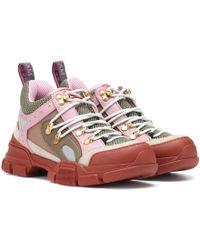 Gucci - Flashtrek Hiker Sneakers - Lyst