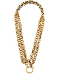 Balenciaga - Chain-link Necklace - Lyst