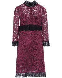 Dolce & Gabbana - Lace Minidress - Lyst