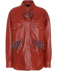 Acne Studios - Arlari Leather Jacket - Lyst