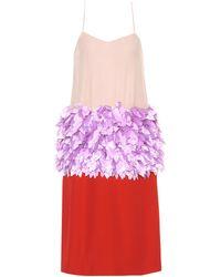 Marni - Verziertes Kleid aus einem Seidengemisch - Lyst