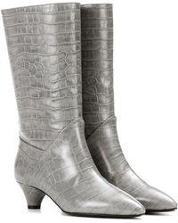 Marni - Stiefel aus geprägtem Kalbsleder - Lyst