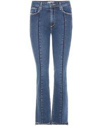 PAIGE - Jeans Vintage Julia cropped - Lyst