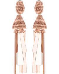 Oscar de la Renta   Tassel Earrings   Lyst