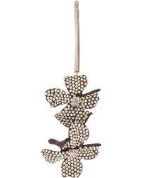 Acne Studios - Embellished Flower Single Earring - Lyst