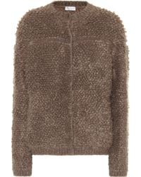 Brunello Cucinelli - Mohair And Wool-blend Jacket - Lyst
