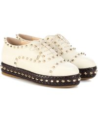 Charlotte Olympia - Hoxton Leather Trainers - Lyst