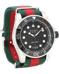 Gucci - Reloj Dive XL - Lyst