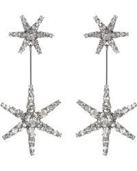 Jennifer Behr - Starburst Crystal Earrings - Lyst