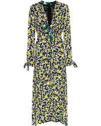 Proenza Schouler - Floral-printed Crêpe Dress - Lyst