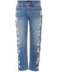 3x1 - Jeans W3 Higher Ground Boyfriend Crop - Lyst