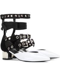 Self-Portrait - Susa Patent Leather Court Shoes - Lyst