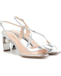 Nicholas Kirkwood - Maeva Pearl 70mm Leather Sandals - Lyst