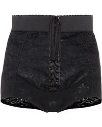Dolce & Gabbana - Lace-up Shorts - Lyst