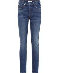 2bd192c4c7 GRLFRND Karolina High-rise Skinny Jeans in Blue - Lyst