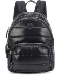 Moncler - Mini Leather-trimmed Shell Backpack - Lyst