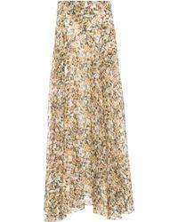 Isabel Marant - Ferone Floral-printed Maxi Skirt - Lyst