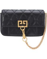 Givenchy - Mini Pocket Leather Shoulder Bag - Lyst