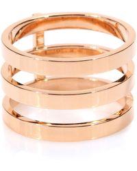 Repossi - Berbere 18kt Rose Gold Ring - Lyst