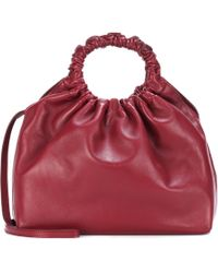 The Row | Double Circle Medium Leather Tote Bag | Lyst