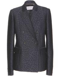 Mulberry - Jacquard Wool-blend Blazer - Lyst