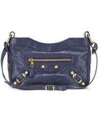 702dc7b5c1 Balenciaga - Giant 12 Hip Leather Shoulder Bag - Lyst