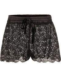For Restless Sleepers - Lace Shorts - Lyst