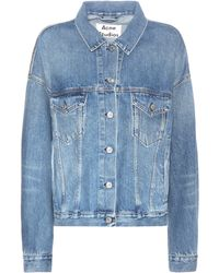 Acne Studios - Lab Natural Mid Vintage Denim Jacket - Lyst