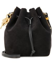 Sophie Hulme - Small Nelson Suede Bucket Bag - Lyst