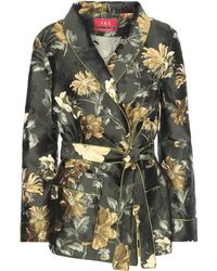 For Restless Sleepers - Jacquard Printed Jacket - Lyst