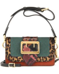 Hot Burberry - Mytheresa. Com Exclusive The Patchwork Snakeskin And Leather  Crossbody Bag - Lyst 5ea82119c179a