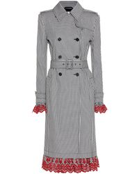 Altuzarra - Double-breasted Checked Coat - Lyst
