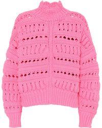 Isabel Marant - Cotton-blend Sweater - Lyst