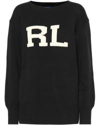 Polo Ralph Lauren - Initials Cotton Sweater - Lyst