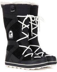 Sorel - Glacy Explorertm Suede Boots - Lyst