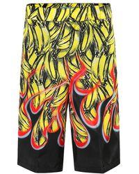 Prada - Pantaloni corti a stampa - Lyst