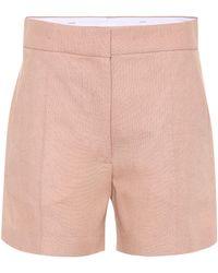 JOSEPH - Windsor Linen-blend Shorts - Lyst